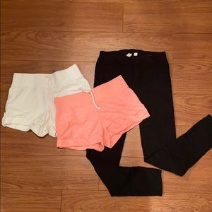 OLD NAVY/GAP Shorts & Legging Bundle
